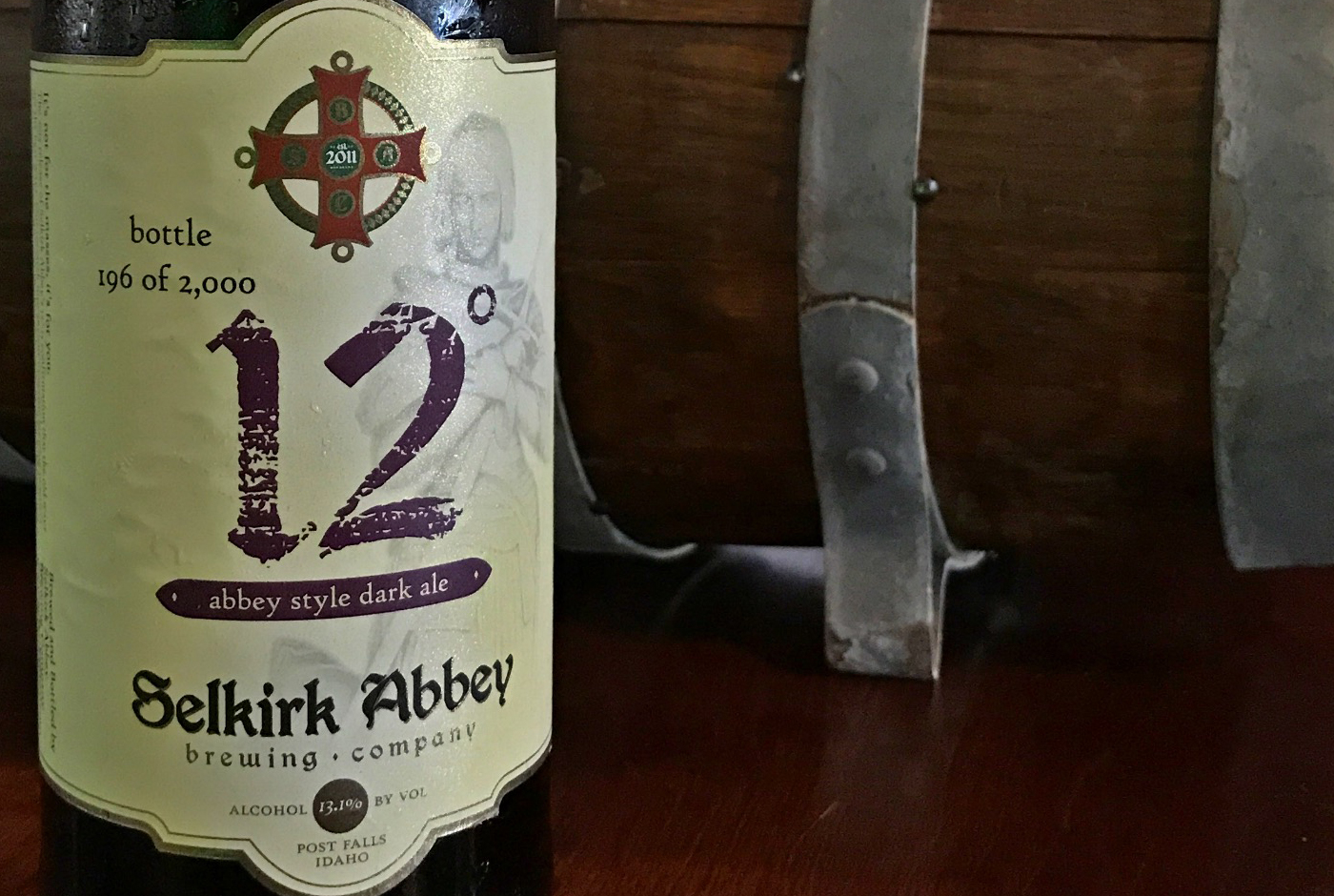 One Beer Buzz: Selkirk Abbey Brewing 12° strong dark ale ...