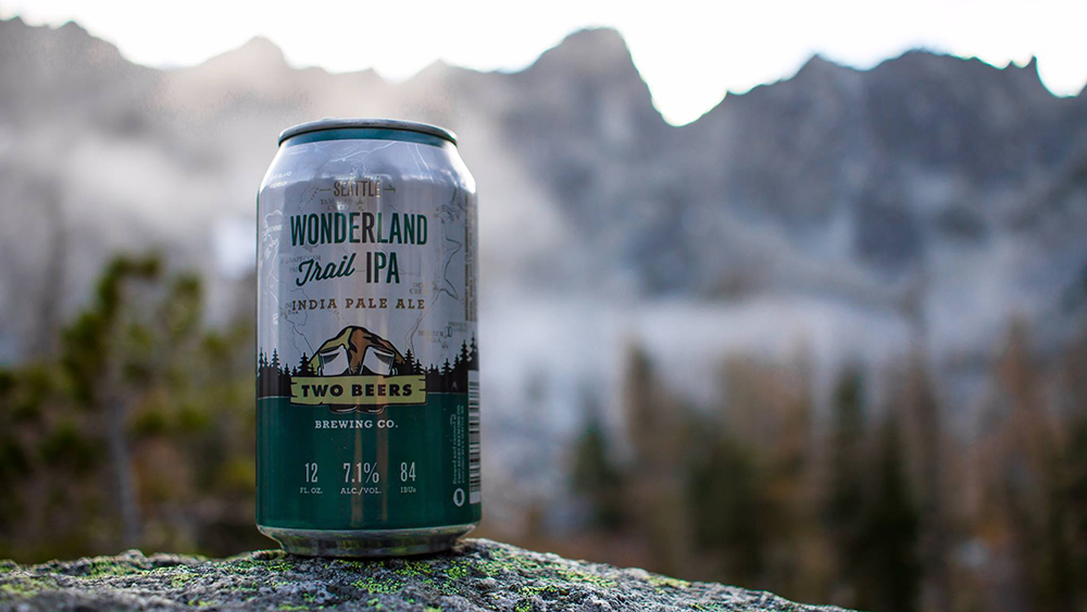 Two Beers Brewing releases Wonderland Trail IPA - Peaks and