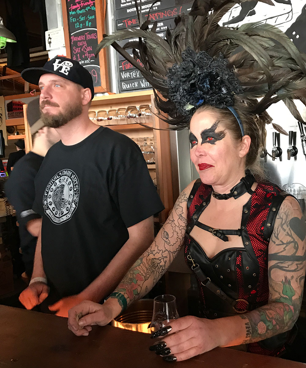 Fort-George-Brewery-Festival-of-the-Dark-Arts-witch