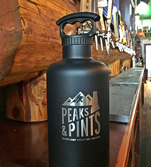 Peaks-and-Pints-10-essentials-List-Stainless-Steel-Growler