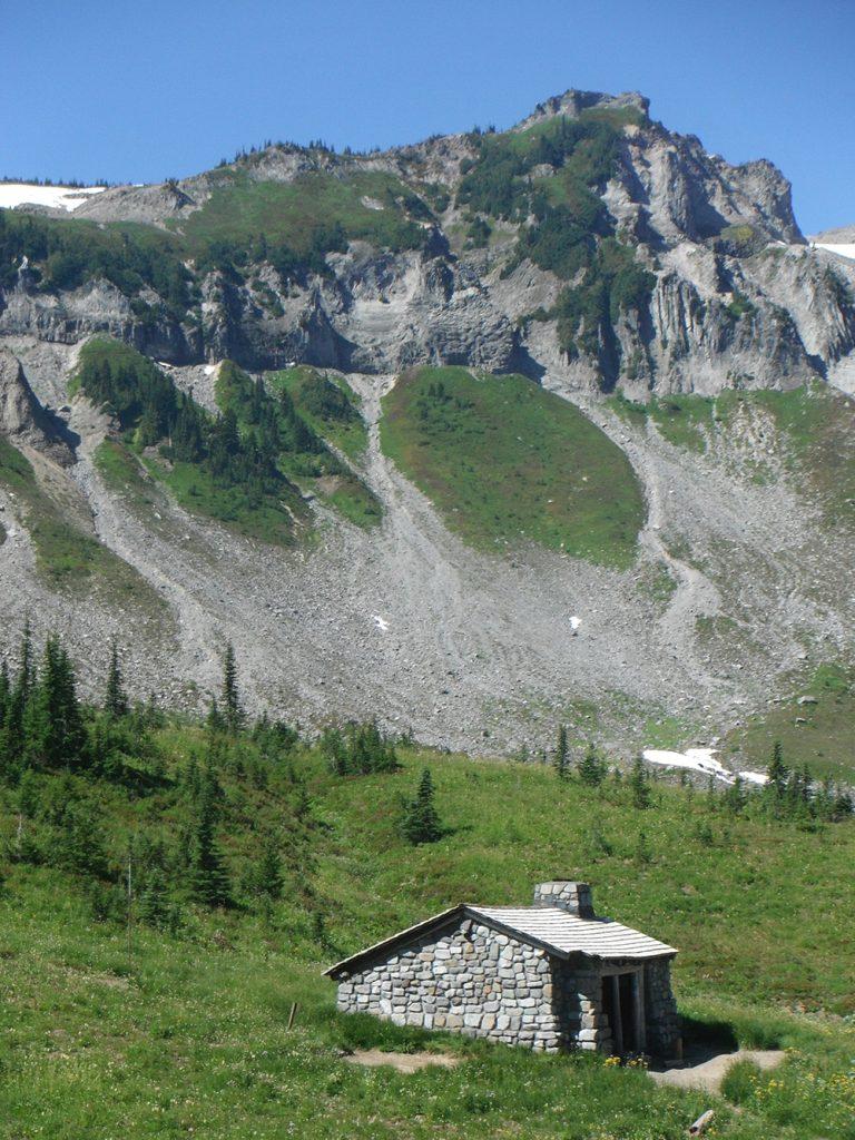 Hiking-Indian-Bar-Trail-Ohanapecosh-River-cabin